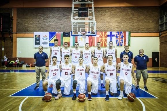 Момчетата до 16 години с първа победа на ЕвроБаскет в Сараево