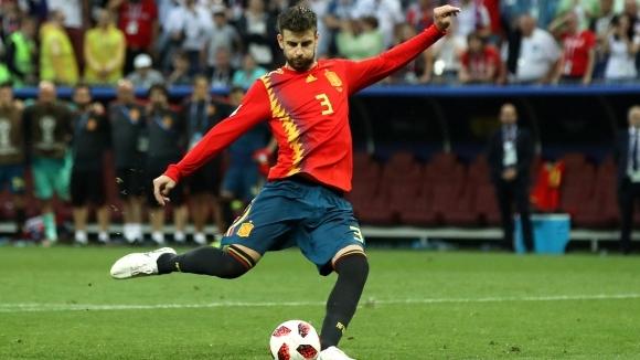 Пике се отказа от националния отбор на Испания