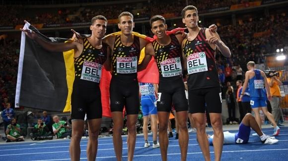 Белгия и Полша с титлите на 4 по 400 метра