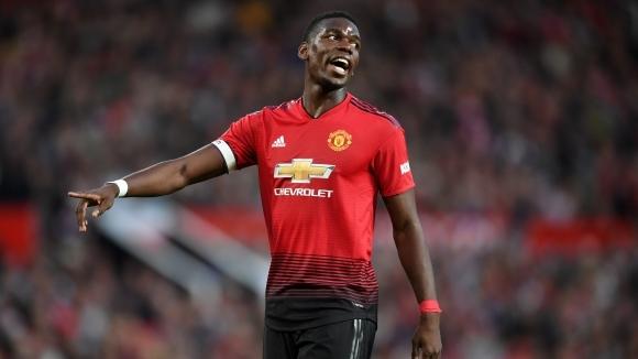 Погба бил заплашен с глоба от шефовете в Юнайтед