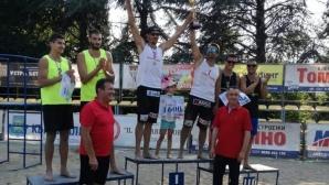 Николай Колев и Константин Митев се плажни шампиони на България