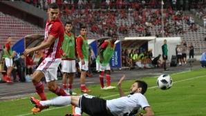 Мауридес измъкна ЦСКА-София в последната минута, съдията спести 3 червени картона (видео+галерия)
