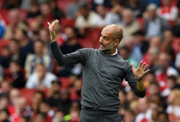 Гуардиола е доволен от представянето срещу Арсенал
