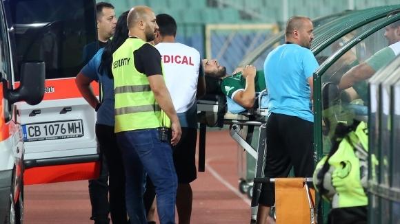 Счупена скула вади от игра за две седмици основен футболист на Ботев (Враца)