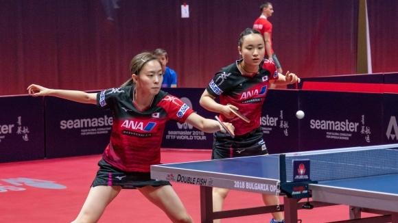 Касуми Ишикауа и Мима Ито готови да защитават титлата си от Панагюрище