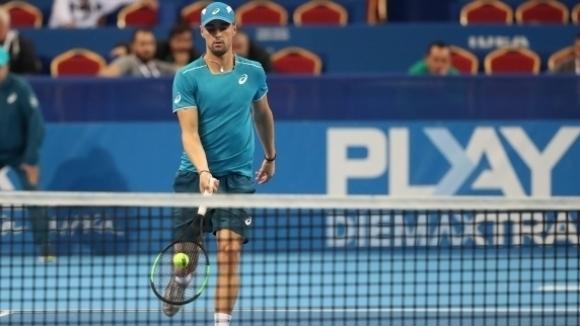 Кузманов е полуфиналист на двойки в Германия