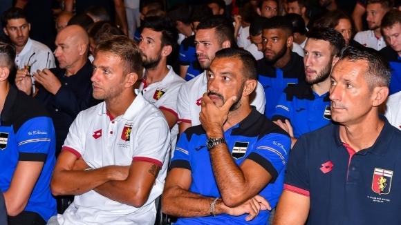 Италия е в траур! Дженоа и Сампдория почетоха загиналите на Понте Моранди