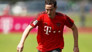 Байерн Мюнхен се разделя с играч