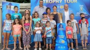 Красен Кралев и Любо Ганев представиха Световната купа по волейбол във Варна (видео + снимки)
