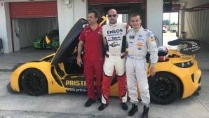 Иван Влъчков в тандем с Маршавелов в битка за победата в 4-ия кръг от GT4