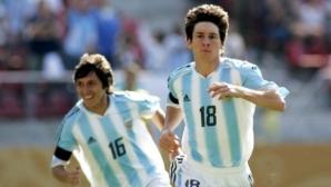На тази дата: Меси дебютира за Аржентина с… 43 секунди игра и червен картон