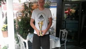 Димитър Димитров беше обявен за баскетболист №1 на Пловдив за изминалия сезон