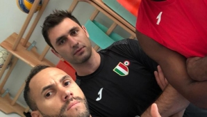 Цветан Соколов отново тренира с топка (видео)