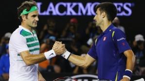 Шоуто е факт - Федерер срещу Джокович за титлата в Синсинати