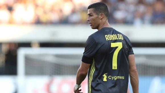 Над 2 милиона зрители са гледали дебюта на Роналдо за Ювентус