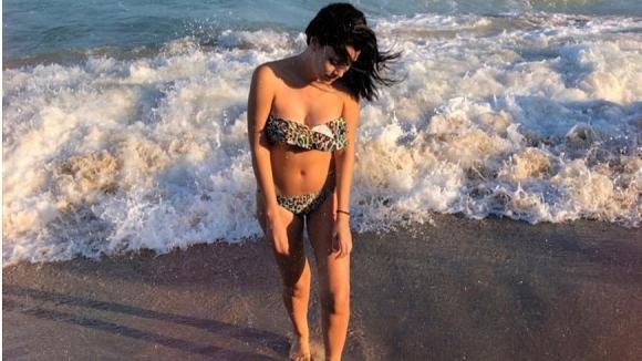 Ралица Паскалева е секси на плажа