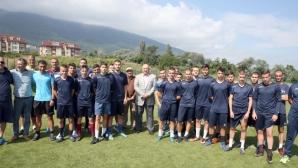 Програмата за развитие на детско-юношеския футбол навлезе във финална фаза