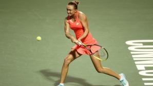 Каролин Гарсия се класира за четвъртфиналите на турнира в Ню Хейвън