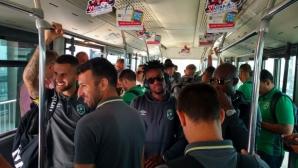 Лудогорец тръгна с 22 играчи за Тбилиси