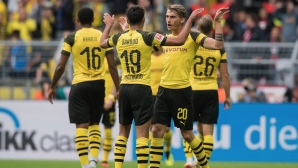 Лайпциг подразни Дортмунд с гол за секунди и после отнесе голям пердах