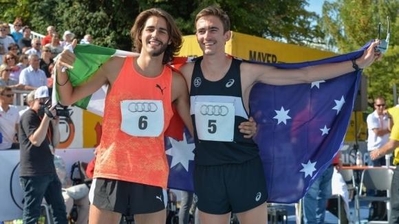 Австралийски успех в скока на височина в Еберщат, Тамбери с личен рекорд за сезона