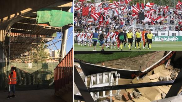 Затварят стадиона на Райо Валекано до средата на октомври