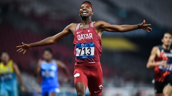 "Самба ""прегази"" рекорда на Азиатските игри за титлата на 400 м/пр"