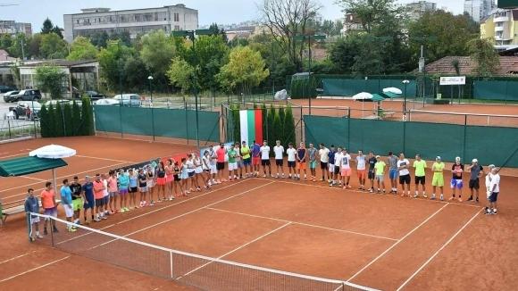 Откриха Държавното лично първенство по тенис за мъже