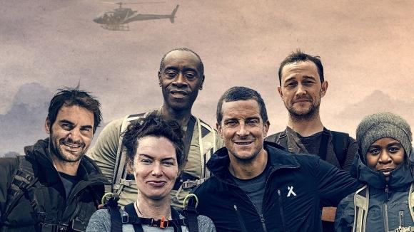 Федерер и звезди от Холивуд оцеляват в пустошта в риалити предаване