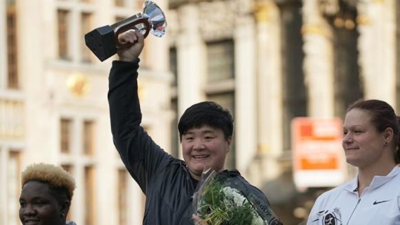 Китайка спечели първия диамантен трофей за 2018 година