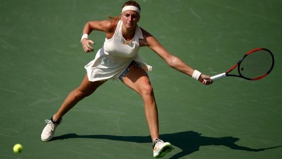 Квитова е в трети кръг на US Open за девети път