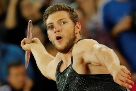 Хофман изпрати копието на 91.44 м и ще носи диамантен трофей към Германия