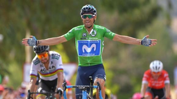 Валверде победи Саган във финалния спринт на осмия етап на Вуелтата