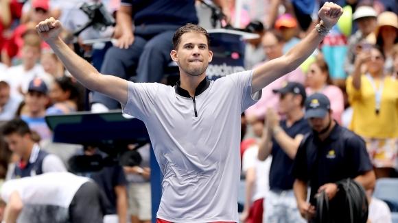 Тийм срази Андерсън за първи 1/4-финал на US Open, изкачи Григор