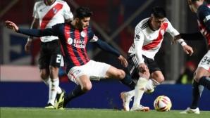 Ривър и Сан Лоренцо отново останаха без победи в Аржентина