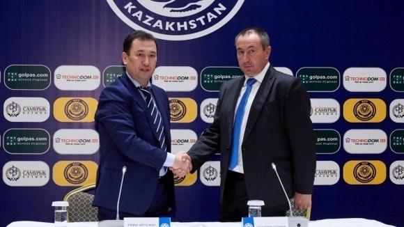 Станимир Стоилов спря първенството на Казахстан