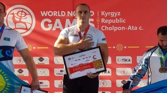 Българин спечели титла в канадската борба на Номадските игри