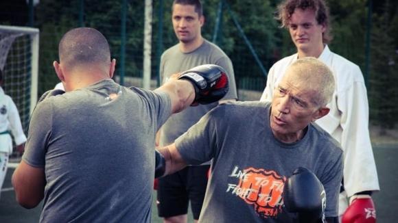 Бокс и кик бокс с Палми Ранчев в Камчия