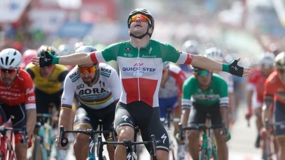 """Вивиани с втора етапна победа в тазгодишното издание на """"Вуелта""""-та"""