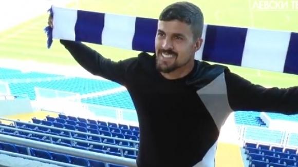 Нуно Рейш: Чувството да подпиша с най-големия клуб на България е страхотно (видео)