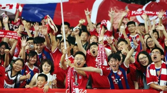Байерн Мюнхен откри трето футболно училище в Китай