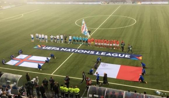 Фарьорски острови с голяма победа в Лигата на нациите