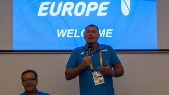 Карамаринов надъха отбора на Европа