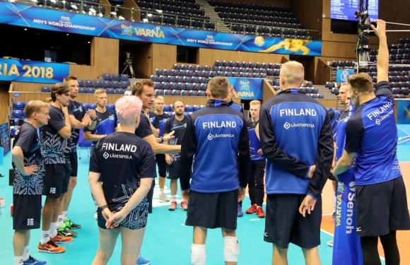 Финландия излиза с нисък състав срещу България