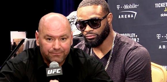 Дейна Уайт отново сърдит на Уудли след показното на UFC 228