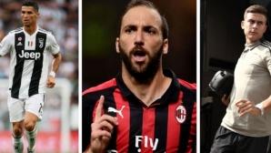 """Това са най-скъпоплатените играчи в Серия """"А"""""""