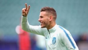 Ман Юнайтед пожела световен шампион на Атлетико