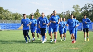 Георги Андонов поднови тренировки с Арда