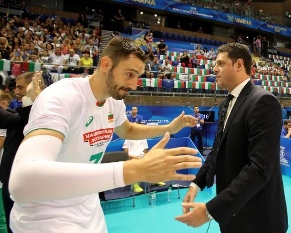 Пресконференция на треньорите от група D на световното първенство във Варна