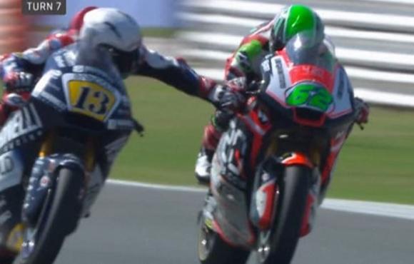 """Пилот от Moto2 направи немислимо нарушение в старта на """"Мизано"""" (видео)"""